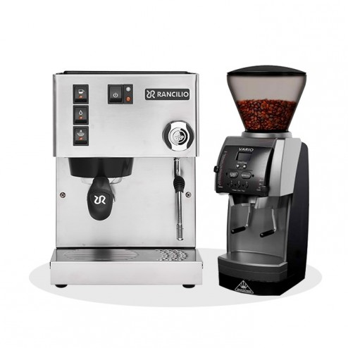 Rancilio Silvia V6 E 2020 Latest Edition & Mahlkönig Vario Home