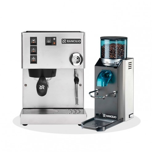Rancilio Silvia V6 E 2020 Latest Edition & Rancilio Rocky SD