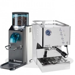 Quick Mill Evolution 70 3130 & Rancilio Rocky SD