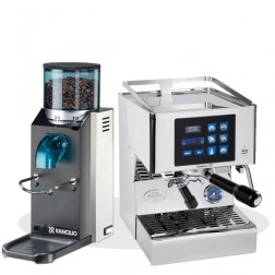 Quick Mill Evolution 70 3230 & Rancilio Rocky SD