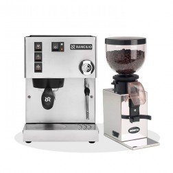Rancilio Silvia V6 E 2020 Latest Edition & Nemox Lux