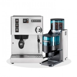 Rancilio Silvia V6 E 2020 Latest Edition & Rancilio Rocky D