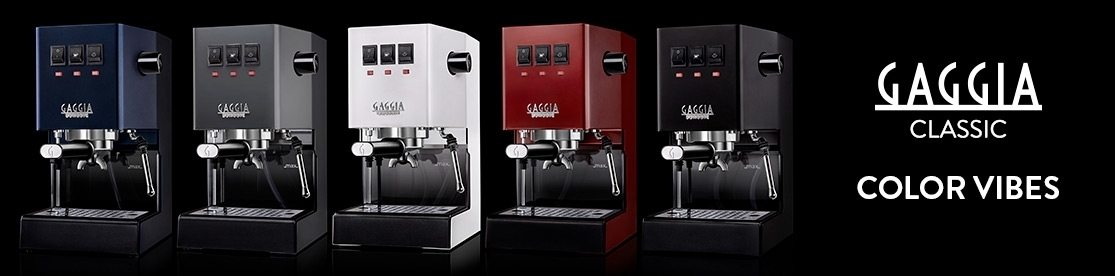 Gaggia Classic Color Vibes Banner